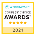 Wedding Wire 2021 Couples award